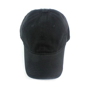 cheap price black baseball cap for men