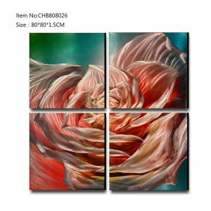 Manufacturer of Red Metal Wall Decor -