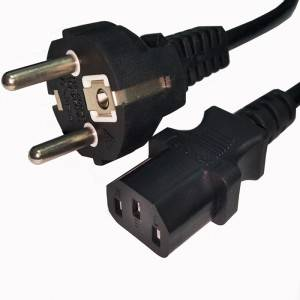 Factory source Eu Power Cord -