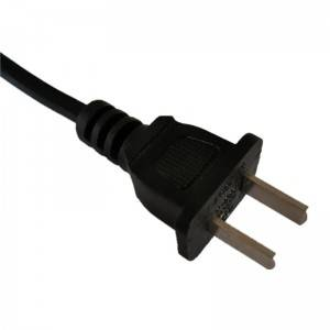 China approved 2 Prong Power Cord