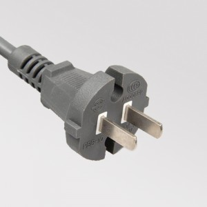 CCC Approval China 2 Prong Power Cord