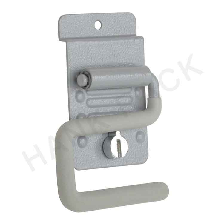 Garage Slatwall Hook with Security Lock Featured Image