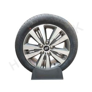 Plastic Tire Stand for Car Tire & Truck Tire Display