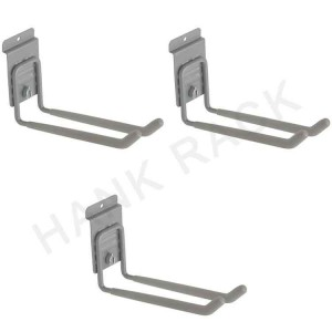 Garage Slatwall Hook with Security Lock
