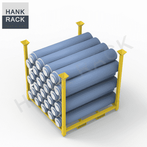 Metal Stacking Storage Fabric Rack