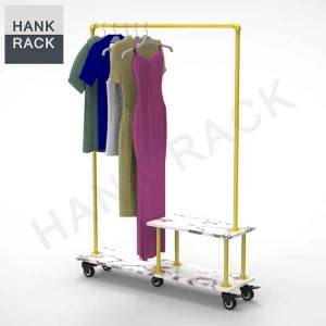 Gold Clothing Rack