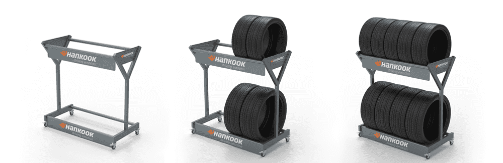 New Product – Hankook Tire Display Stand