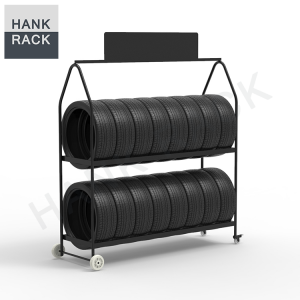 Mobile Tyre Rack