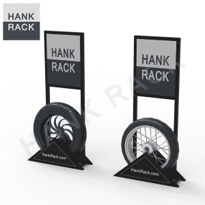 Motorcycle Tire Rack Tire Display Stand