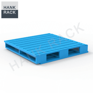 4 way entry metal pallet