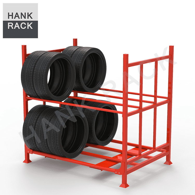 Double Tier Car Tire Rack Featured Image