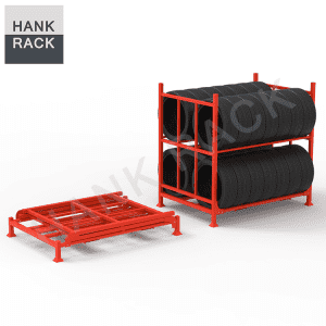 Double Tier Car Tire Rack
