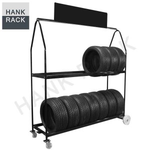 OEM Customized Wheel Stand Display -