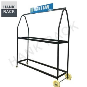 Display Tire Rack