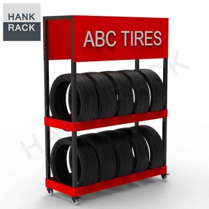 Mobile tire displays