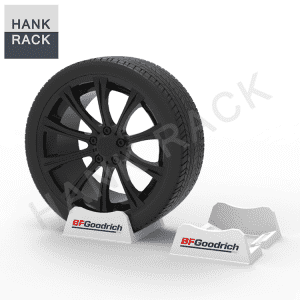 Plastic 2 piece Passenger Tire Stands