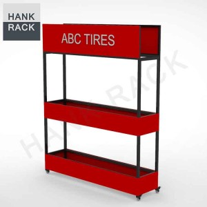 Factory Supply Tire Stand Display -