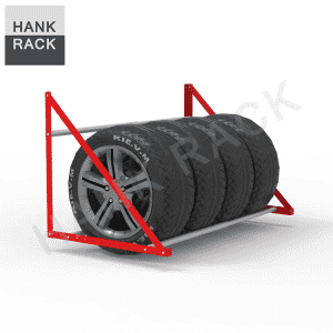 Wall Mounted Seasonal Spare Tire Storage Rack