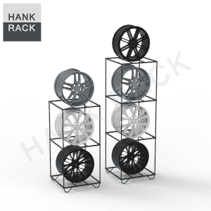 Car Rim Wheel Display Rack