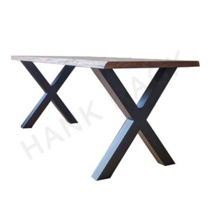 X Shape Metal Table Leg