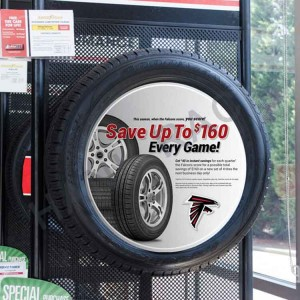 Tire Center Display