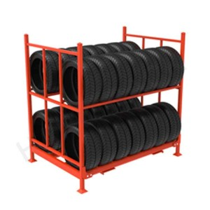 2 Layers Tire Rack