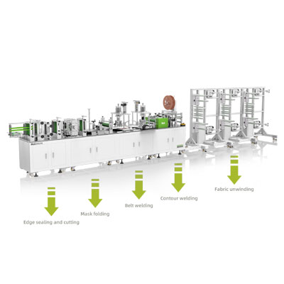 Wholesale Dealers of N95 Automatic Mask Machine -