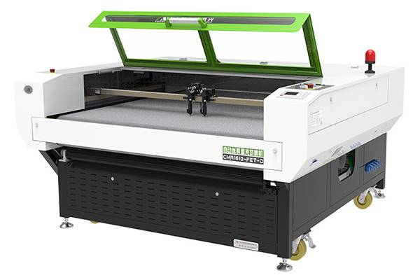 Automatic feeding laser cutting machine realizes precision and efficient cutting of medical protective clothing