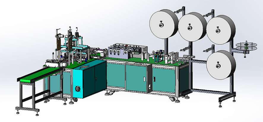 Real question and answer: What is the actual production capacity of the automatic  mask machine in 1 in 1 production line per day?