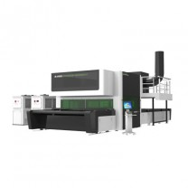Auto airbag double-head asynchronous laser cutting machine series
