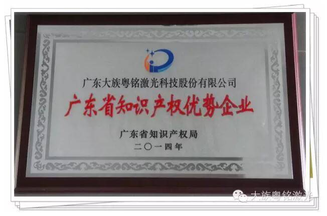 Good News! Han's Yueming Laser Group's laser cutting machine awarded Guangdong Top Brand Product title