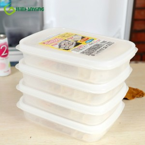 Sealed Rectangle Crisper Refrigerator Plastic Bento Food Storage Boxes Preservation Box Lunch Boxes Container Kitchen