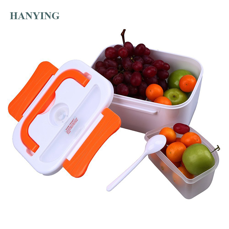 1.05L 12V/110V220V Portable Electric Heating Lunch Box For Sandwich Soup Rice Multi-Functional Lunch Box Food-Grade Food Contain