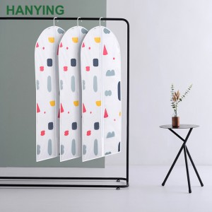 Korean version of printed clothes dust cover High quality home waterproof and moisture-proof EVA clothing dust bag