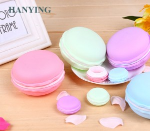 Hot selling macarons shape mini storage box /Jewelry storage box / plastic storage box