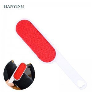 Reusable Magic tsaye Brush Fabric Clothes Dust crumbs Brush CLEANER dusting biyu mai gefe Cleaning Tool Bit Hair Remover CLEANER