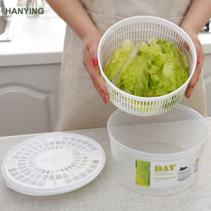 2018 salad spinner machine Fruits and Vegetables Dryer Quick with Ease for Tastier Salads and Faster Food Prep Salad Spinner