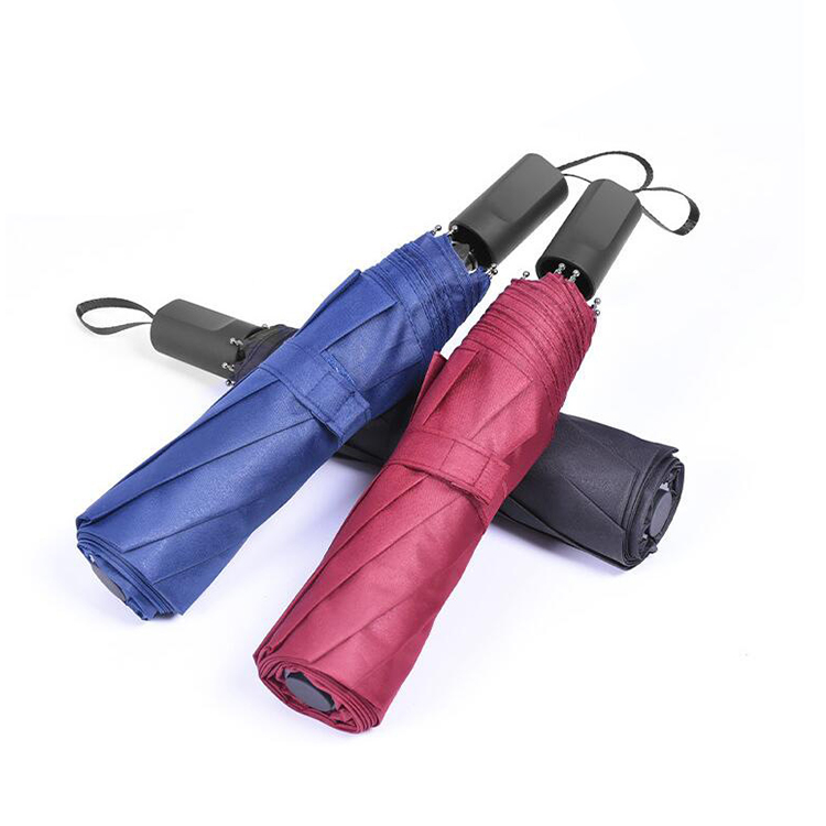 China Suppliers Collapsible Windproof PG Paraguas Customized Advertising Umbrella 8 Bone Automatic Umbrella