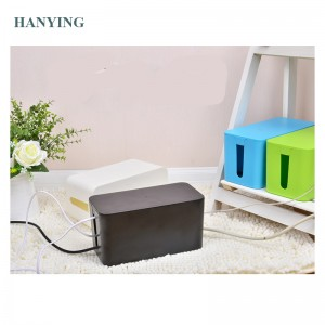 Amazon Hot sell Cable Management Electrical Outlet Boxes For Power Strip Multi-Charger Wire Arranging Ties Cord Organizer Clips