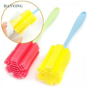 Cup Brush Kitchen Cleaning Tool Sponge Brush For Wineglass Bottle Coffee Tea Glass Cup Mug Sponge Vacuum Cup Cleaning Brush