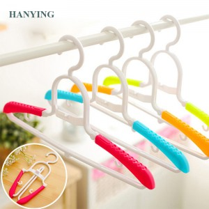 Magic Multi-Fungsional adjustable Plastik Baby hangers Baju gantungan sawawa barudak rak kids Busana Drying rak