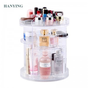 360 Degree Acrylic Rotating Storage Tower Rack