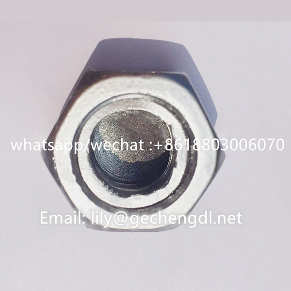 Galvanized /hot dip galvanized hex anti-theft nut Featured Image