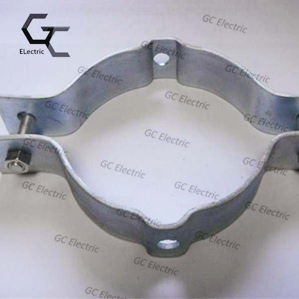 Hot dip galvanized customized flat steel clamp Featured Image
