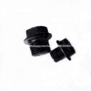 oil drain plug standard size M12-1.25 mm,head size 14mm