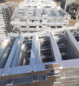 Galvanized angle steel beams
