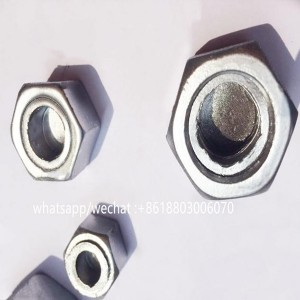 Galvanized /hot dip galvanized hex anti-theft nut