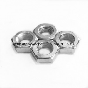 High quality Grade 4\8 hex thin nut