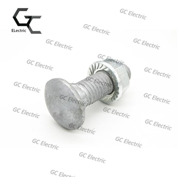 Popular Design for Hot Dip Galvanized Carbon Steel Machine Screws -