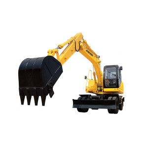 Trending Products Rubber Track Farm Mini Excavator - HBXG-HTL150-8 Wheel Excavator – Xuanhua  Construction